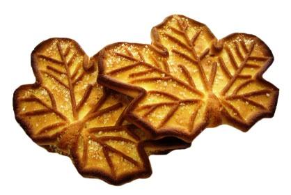 Печенье Волшебное с сахаром (Кленовый лист)
