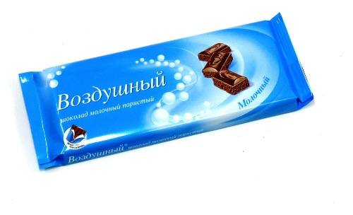 Шоколад Воздушный молочный 90г