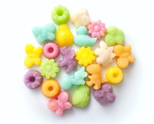 Конфеты Фруктовый сахар (фигурный)
