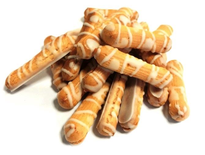 Печенье Хрустики  в белой глазури